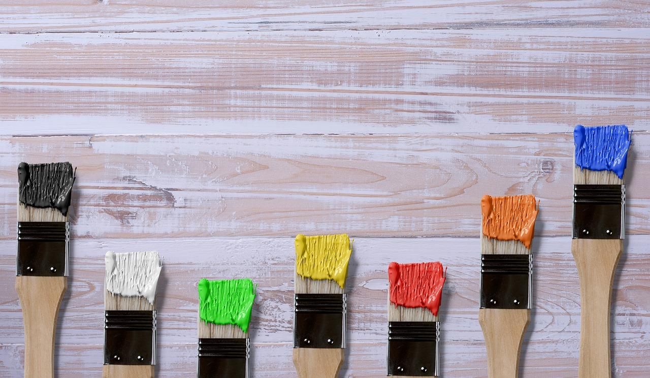 barvy na štětcích - kopie