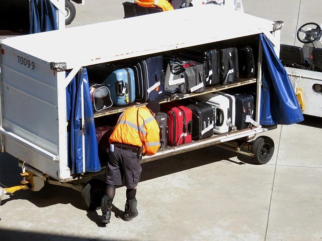 odvoz zavazadel
