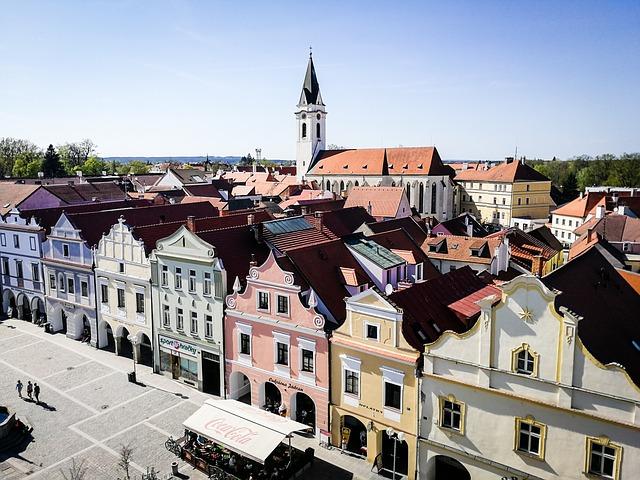 domy Třeboně