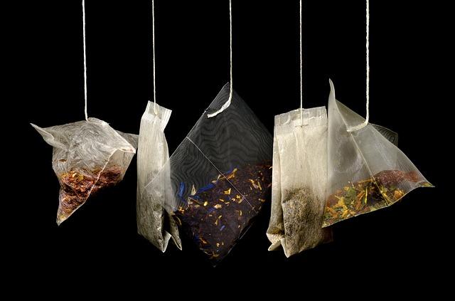 sáčky s čajem