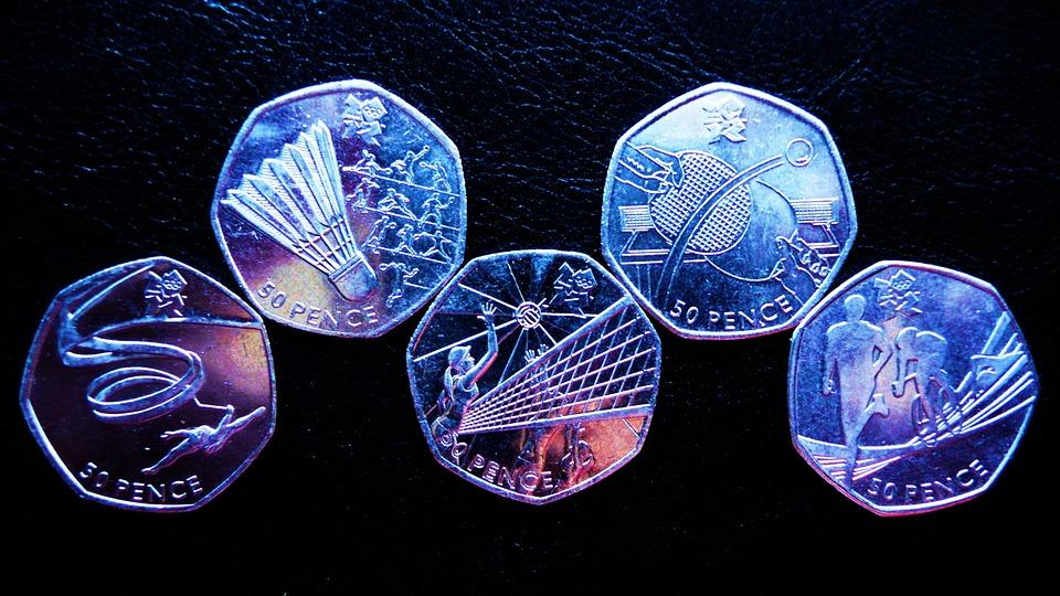 olympijské mince